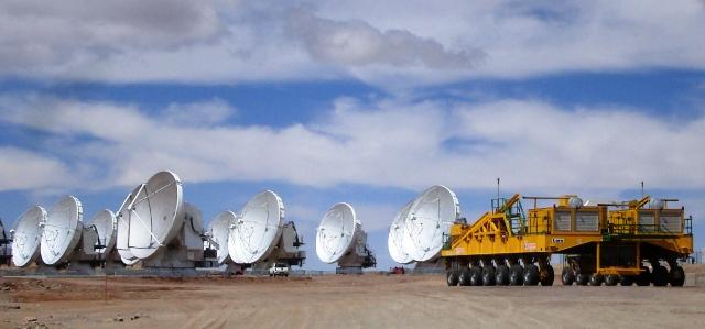 Observatoire radioastronomique d'ALMA - Chili