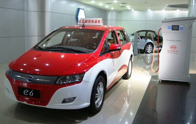 Shenzen : BYD (Build Your Dream)