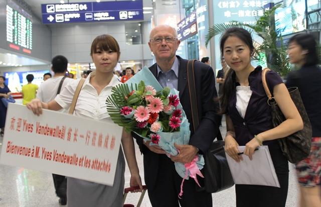 En mission à Chengdu - Chine