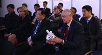 Le ministre chinois de la Science et de la Technologie dans les Yvelines