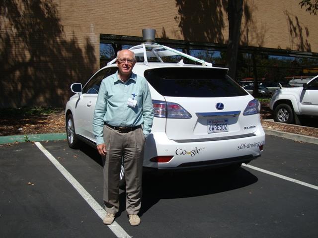 Mountain View - La Google car