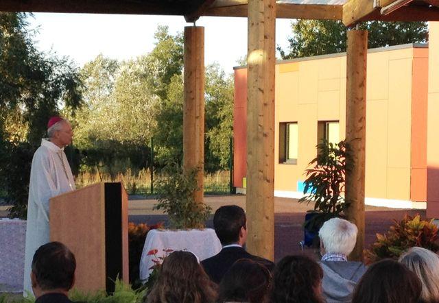 Inauguration du collège Sainte Thérèse