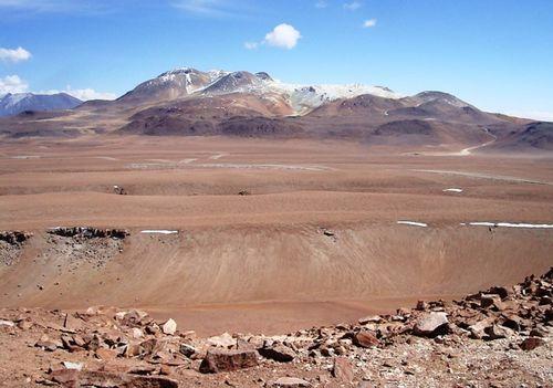 Le désert d'Atacama - Chili