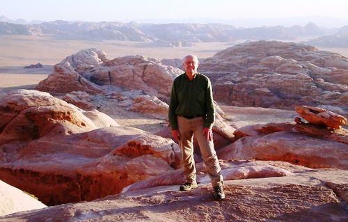 Jordanie : désert du Wadi Rum