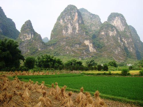 Yanshuo : province du Guangxi